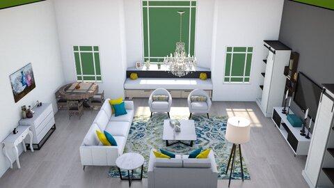 sala de estar  - Modern - Living room  - by fp_d7a41647728d9c33