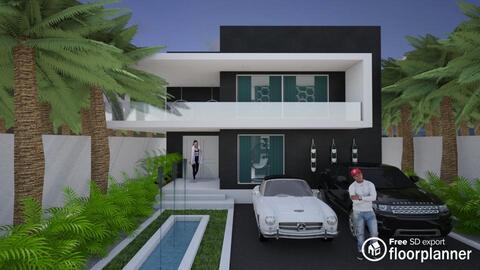 Modern Villa - by fp_8fff3b195830a509