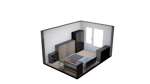 postel u steny + presunute komody a skrin - by fp_6b574f52434c60ef