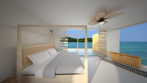 camera sul mare - Minimal - Bedroom  - by fp_d755eb72bed73d87