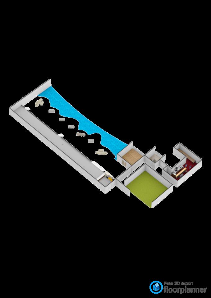 プールのあるビル - by fp_f0890fc495b1422d
