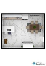 Kitchen/ With Tv  (Free) Modern - by fp_94e7f86ad1a25e93